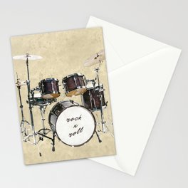 Drumkit Stationery Cards