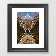 Hidden meaning Framed Art Print
