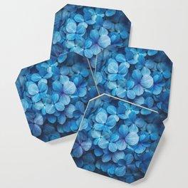 Fifty Shades of Blue Coaster