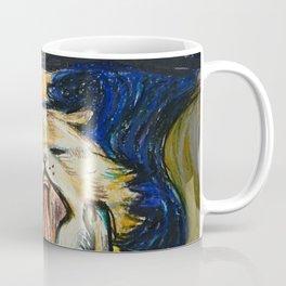 The Scream: Cat version Coffee Mug
