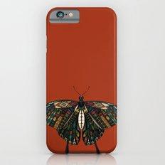 swallowtail butterfly terracotta iPhone 6s Slim Case