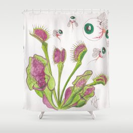 Venus Eye Trap Shower Curtain