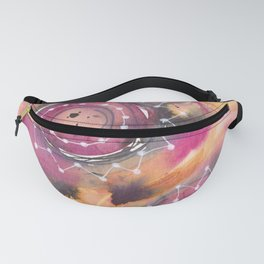 Abstract Ink & Watercolor - Chai Stars Fanny Pack