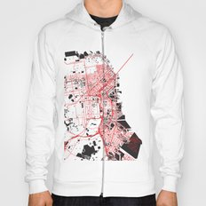 San Francisco Noise Map Hoody