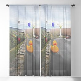 Roadside Attractions Sheer Curtain