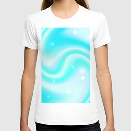 Blue whirl background T-shirt
