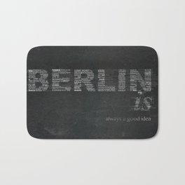 BERLIN is Bath Mat