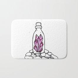 Crystal in a bottle Bath Mat