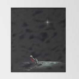 Space Chill Throw Blanket