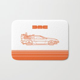 Back To The Future - Delorean - Stroke Bath Mat