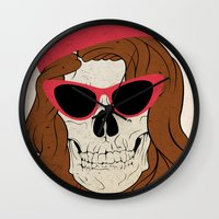 60s Wall Clocks featuring 60s by Christopher Goggs