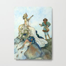 Czech and Slovak Fairy Tales by Artus Schneider Metal Print