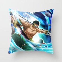 Rononoa Zoro - One Piece Throw Pillow