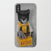 superhero iPhone & iPod Cases featuring Superhero by liberthine01