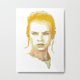 Rey (The Force Awakens) Metal Print