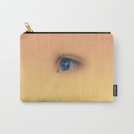 Blue eye staring Carry-All Pouch