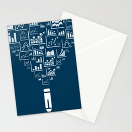 Pencil the schedule Stationery Cards
