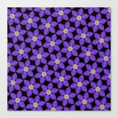 Purple Flower Garden Canvas Print