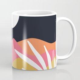 Bright Desert Night Coffee Mug