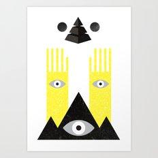 PYRAMIDº Art Print