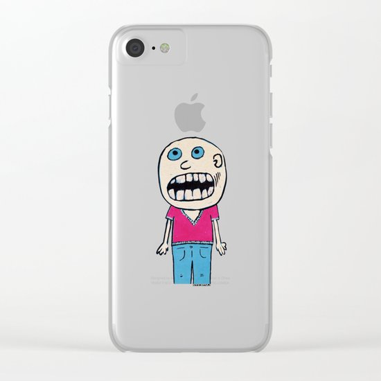 - no way - Clear iPhone Case