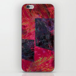Abstract-art geometric iPhone Skin