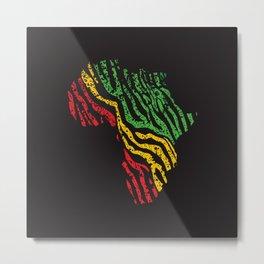 Reggae Africa Metal Print