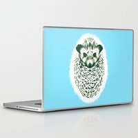 hedgehog Laptop & iPad Skins featuring hedgehog by barmalisiRTB