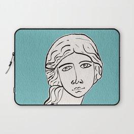 The little mermaid statue Laptop Sleeve