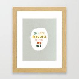 Believe It Framed Art Print