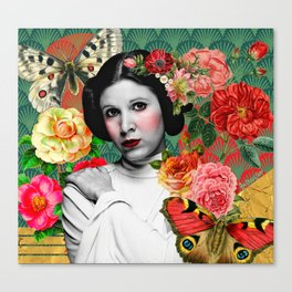 Blooming Leia Canvas Print