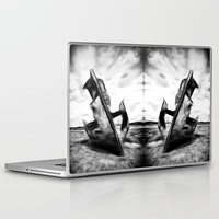 wreck it ralph Laptop & iPad Skins featuring Ghostly Wreck by inkedsandra