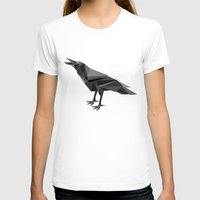 raven T-shirts featuring Raven  by mailboxdisco