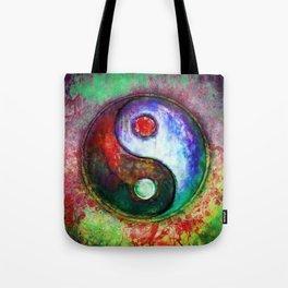 Yin Yang - Colorful Painting III Tote Bag