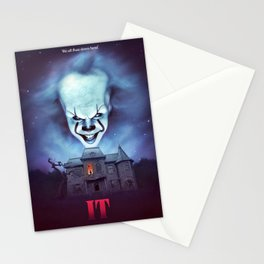 IT we all float down here! Stationery Cards
