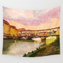Florence, Ponte Vecchio Wall Tapestry