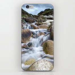 Stream Into Porth Nanven iPhone Skin