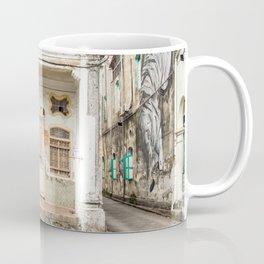 George Town, Penang Shop House Street Scene Coffee Mug