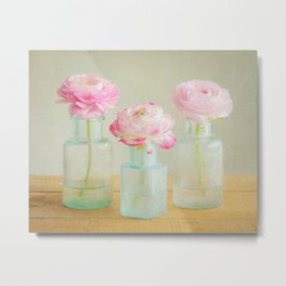 Pinkies Metal Print