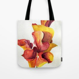 Up In Flames Tote Bag