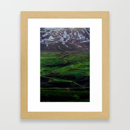 Peak Transition Framed Art Print