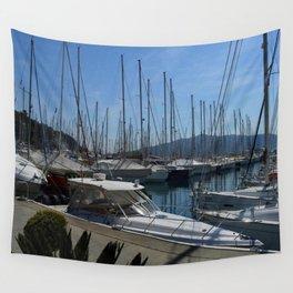 Netsel Yacht Marina Marmaris Turkey Wall Tapestry