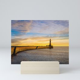 Roker Sundown Mini Art Print