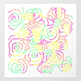 Floral Summer Art Print