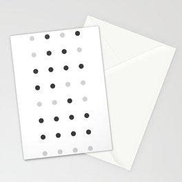 Binary love minimalist Stationery Cards