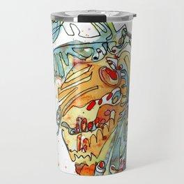 Butterfly with Chrysalis Travel Mug