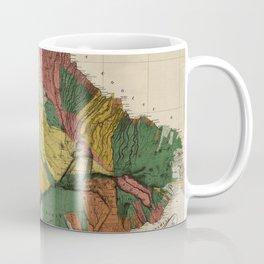 Vintage Map of Maui Hawaii (1885) Coffee Mug