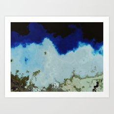 Flat Earth? Art Print