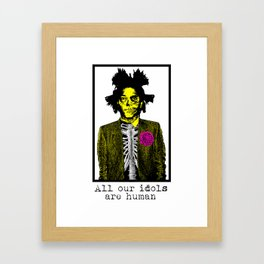 All our idols Framed Art Print