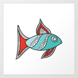 Two Fish Art Print